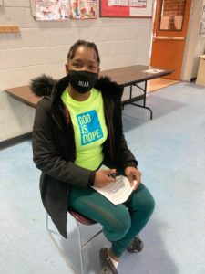 """Cassandra Bradshaw, a Manager at the BCCS Children's Residential Program, said she's """"tired of wondering when she is going to get sick, and wants to keep her family protected."""""""